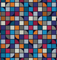Abstract mosaic seamless background vector