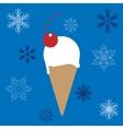 Ice-cream cone vector