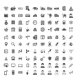 Universal icon set 100 icons vector