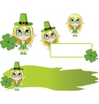 Little elf green vector
