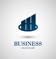 Abstract business icon design vector