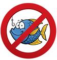 No fishing vector