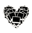 Photos heart shape vector