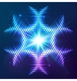 Cosmic shining abstract star vector