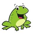 Cartoon frog vector
