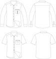 Outline shirt vector