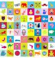 Kid elements pattern vector