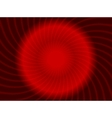 Abstract swirl red design vector