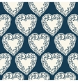 Seamless pattern with decorative doodle ornamental vector