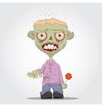 Zombie boy vector