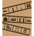 Film strips vector