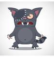 Zombie cat vector