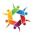 Family group logo vector