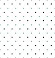 Polka dot vintage vector