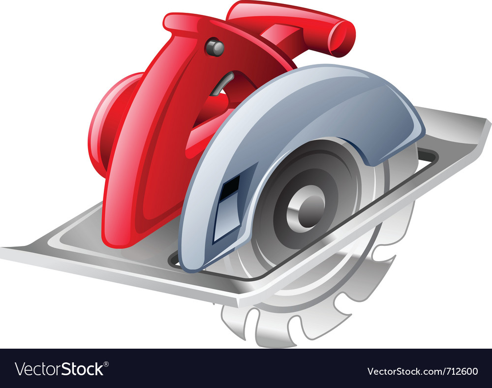 Circular saw vector | Price: 3 Credit (USD $3)