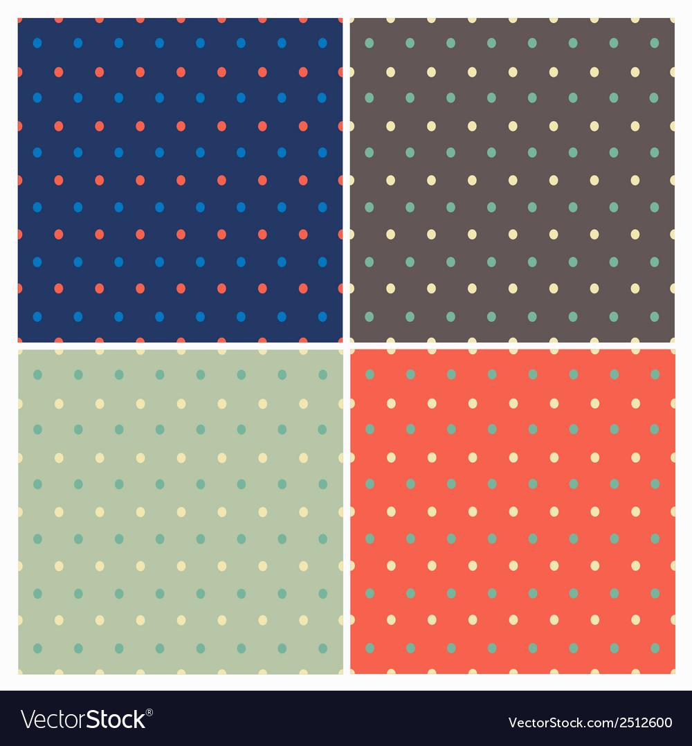 Polka dot pattern vector | Price: 1 Credit (USD $1)