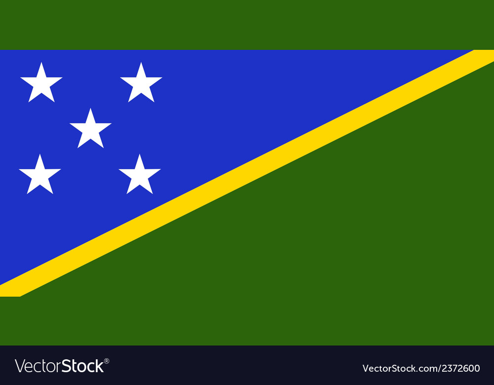 Solomon islands vector | Price: 1 Credit (USD $1)