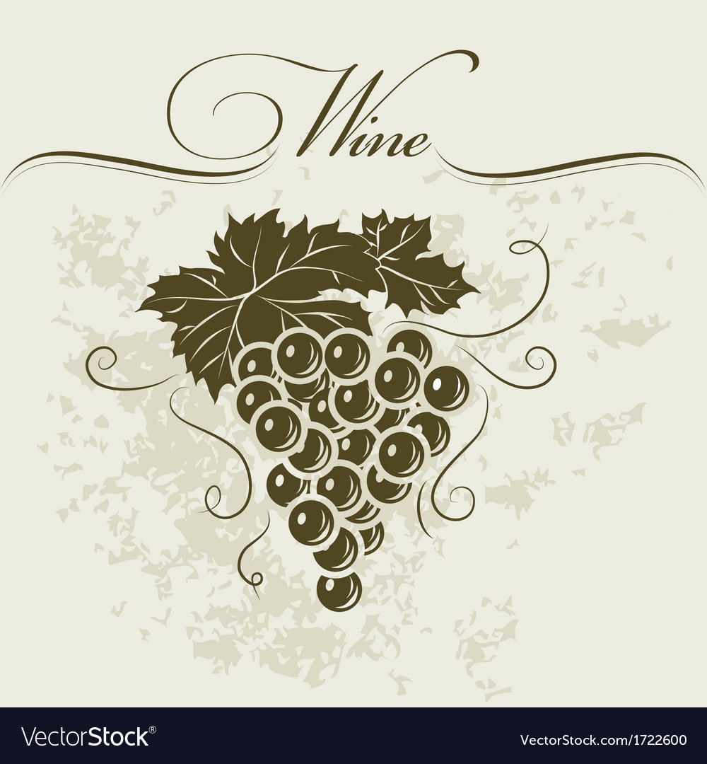 Winery sign vector | Price: 1 Credit (USD $1)