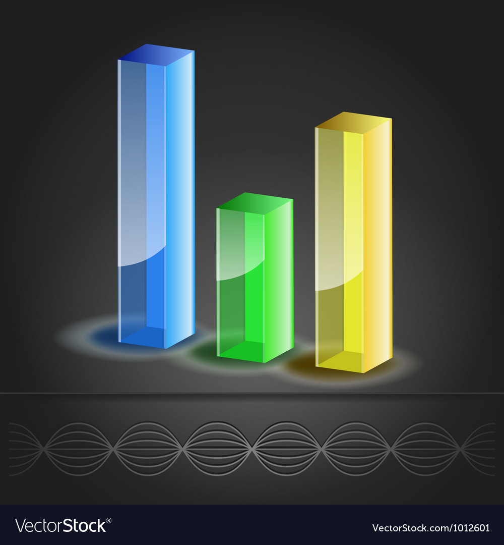 Bar chart icon vector | Price: 3 Credit (USD $3)