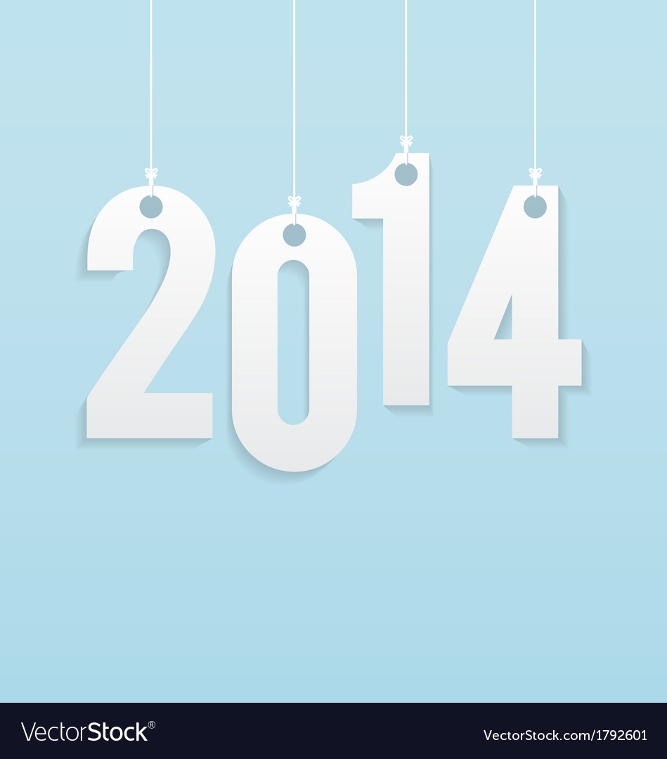 New year greeting card background vector   Price: 1 Credit (USD $1)