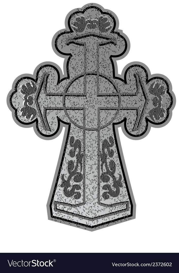 Ancient cross vector | Price: 1 Credit (USD $1)