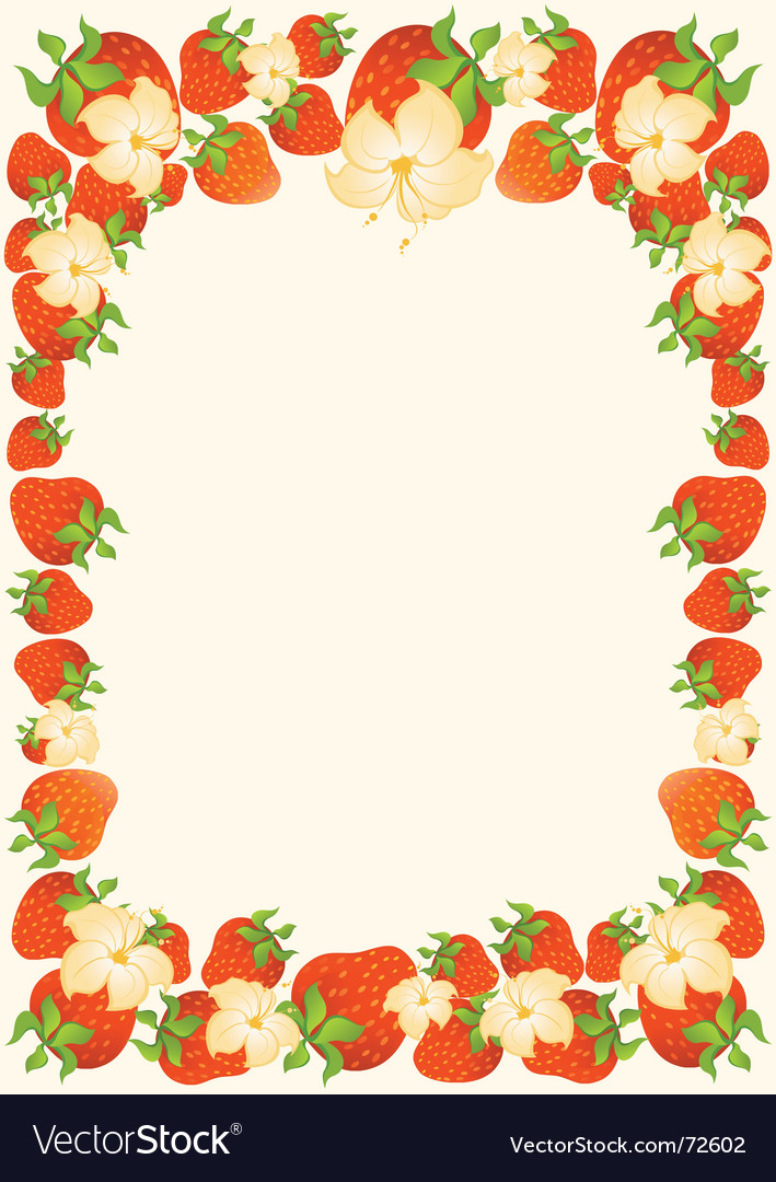 Berry frame vector   Price: 1 Credit (USD $1)