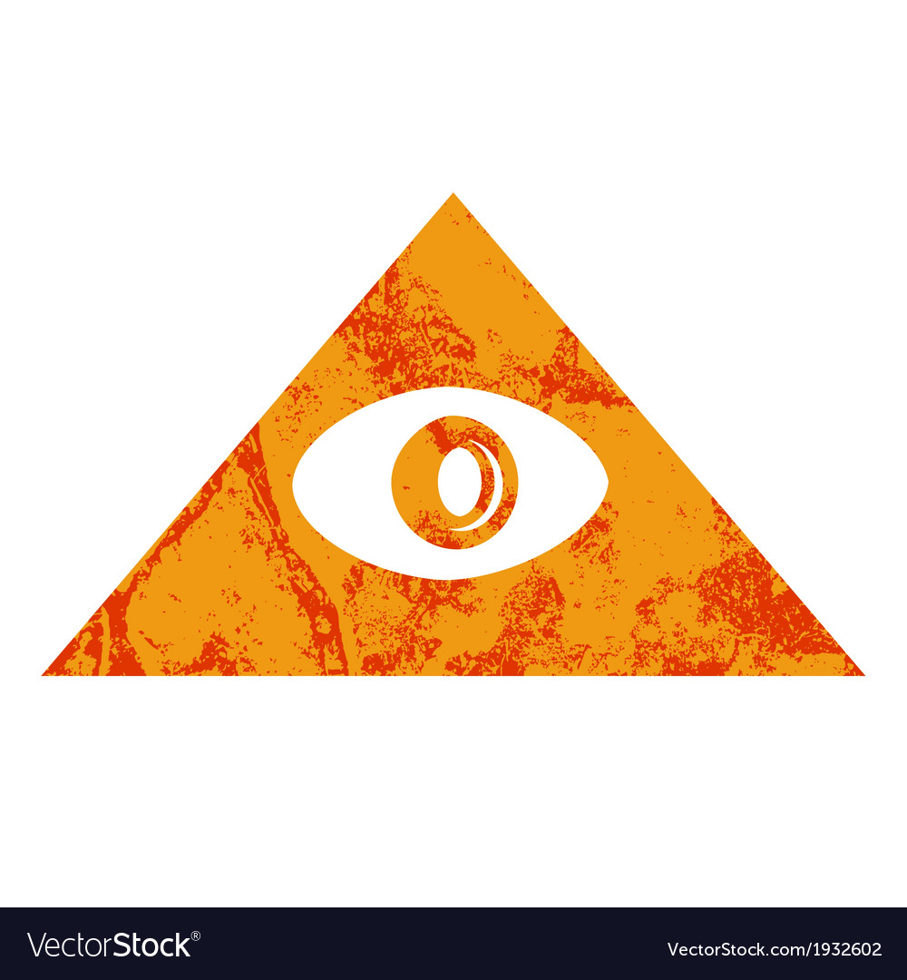 Pyramid eye vector | Price: 1 Credit (USD $1)