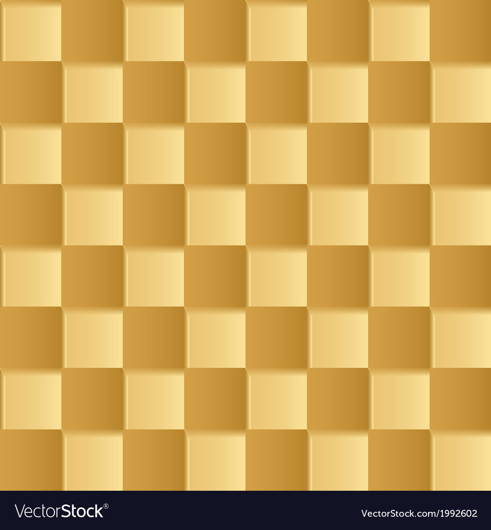 Yellow square abstract background vector | Price: 1 Credit (USD $1)