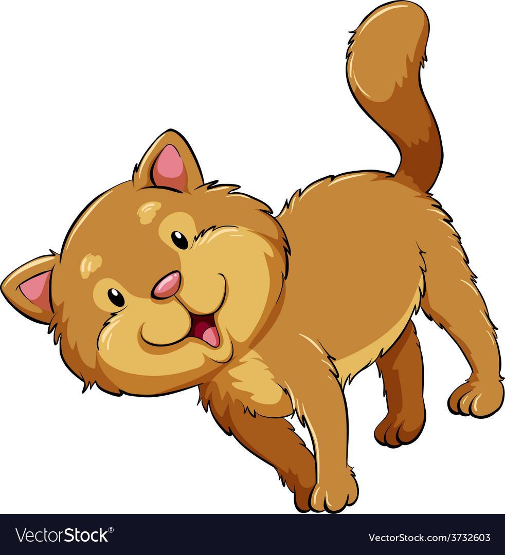 A fat cat vector | Price: 1 Credit (USD $1)