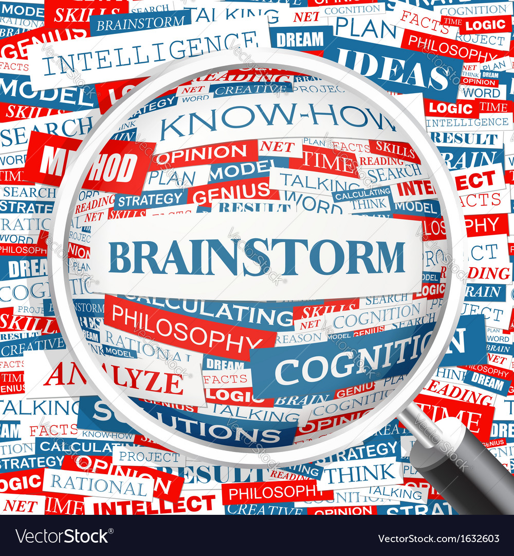 Brainstorm vector | Price: 1 Credit (USD $1)