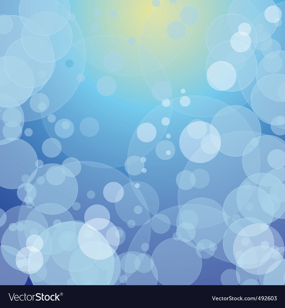 Colorful bokeh against the sky vector | Price: 1 Credit (USD $1)