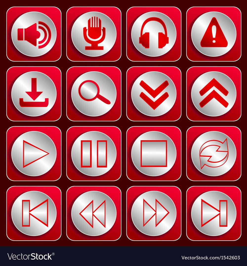 Icon set 2 vector | Price: 1 Credit (USD $1)