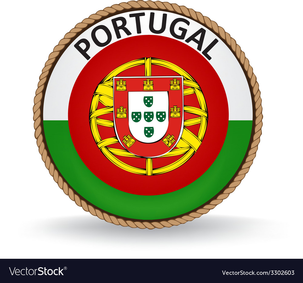 Portugal seal vector | Price: 1 Credit (USD $1)