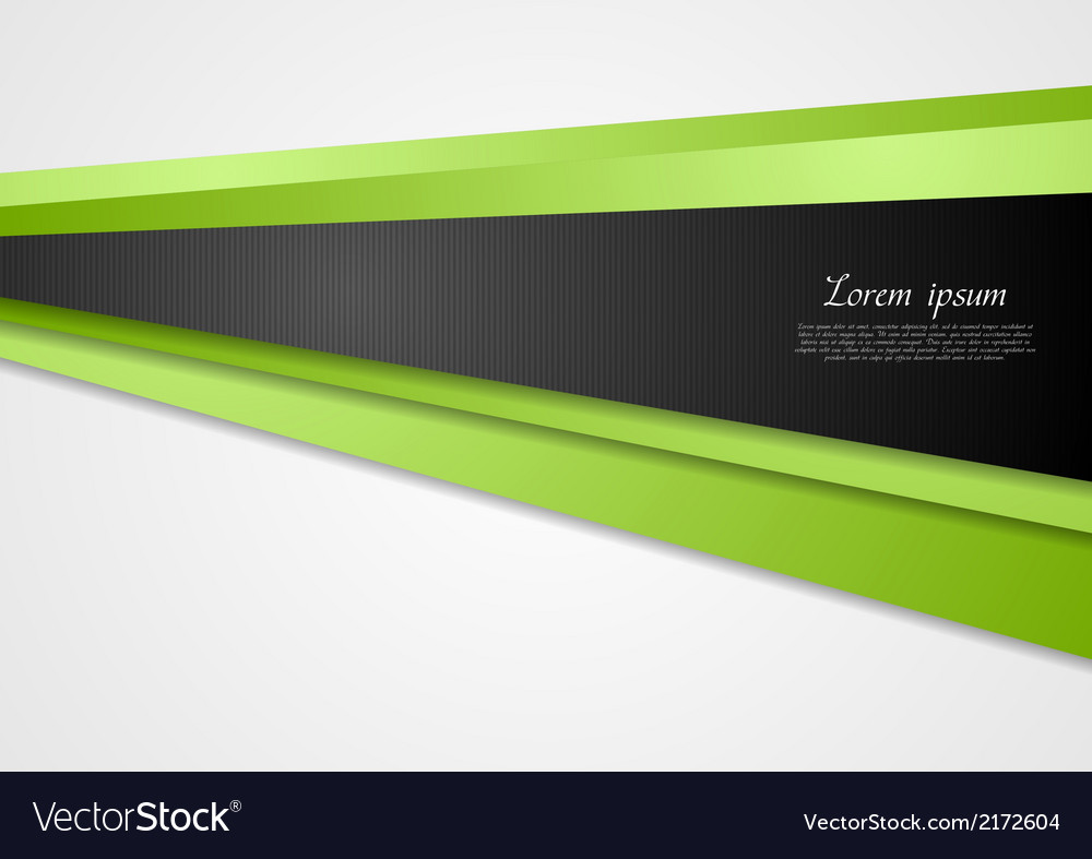 Abstract green motion background vector | Price: 1 Credit (USD $1)