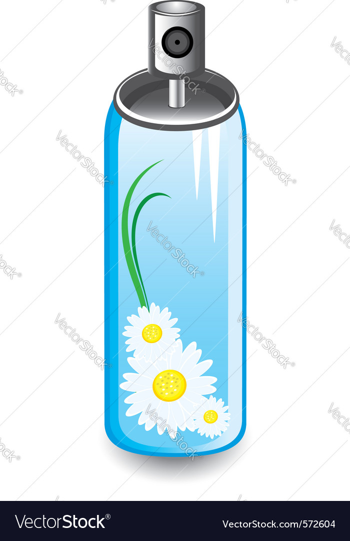 Air freshener spray vector | Price: 1 Credit (USD $1)