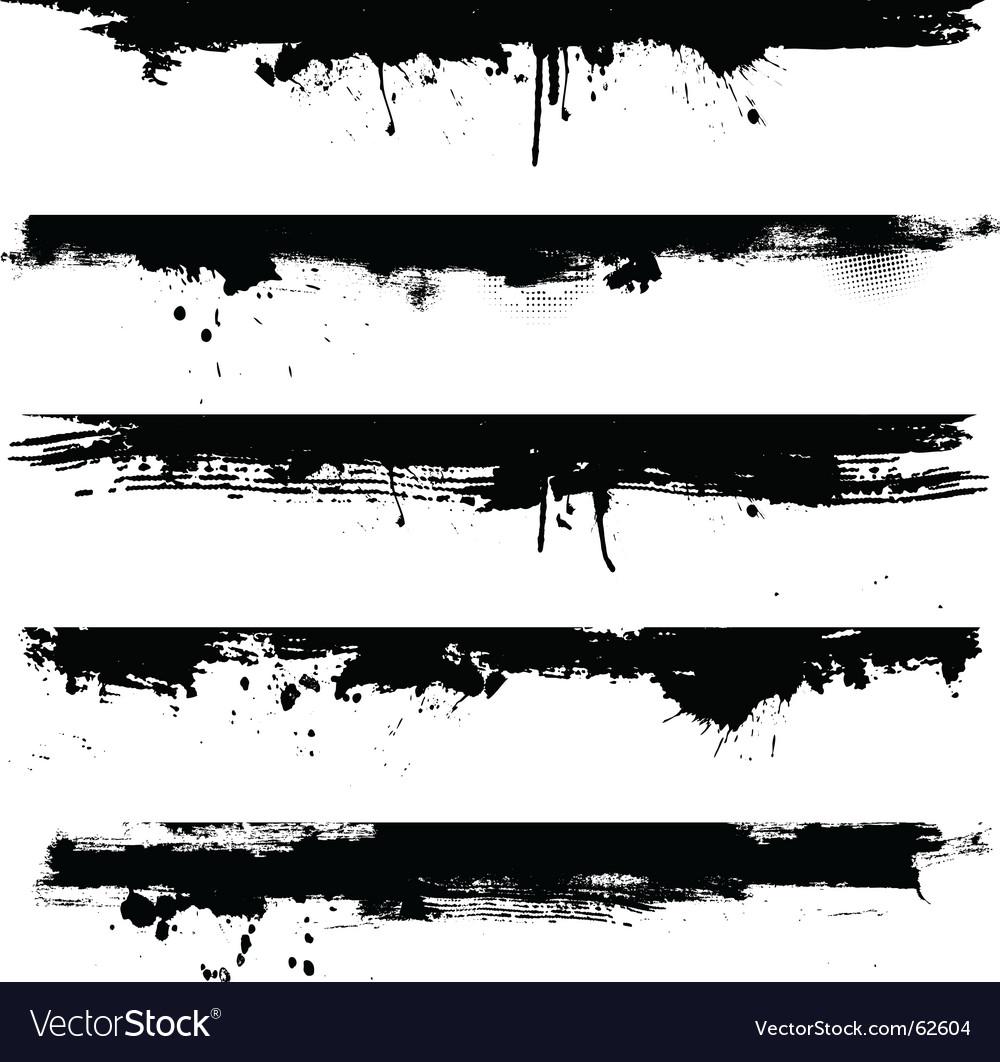 Grunge borders vector | Price: 1 Credit (USD $1)