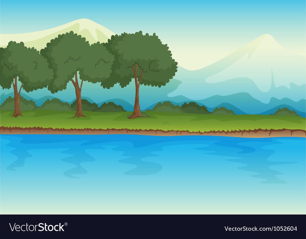 River vector | Price: 1 Credit (USD $1)