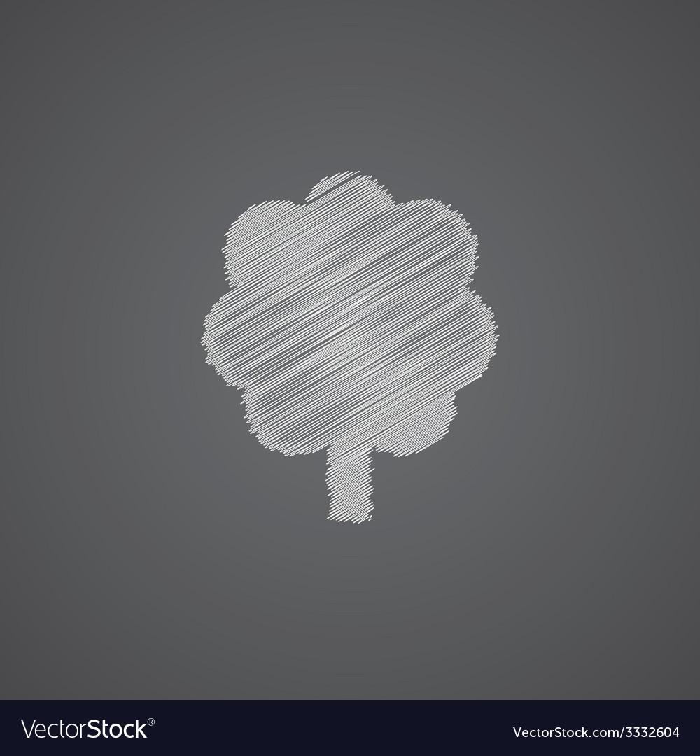 Tree sketch logo doodle icon vector | Price: 1 Credit (USD $1)