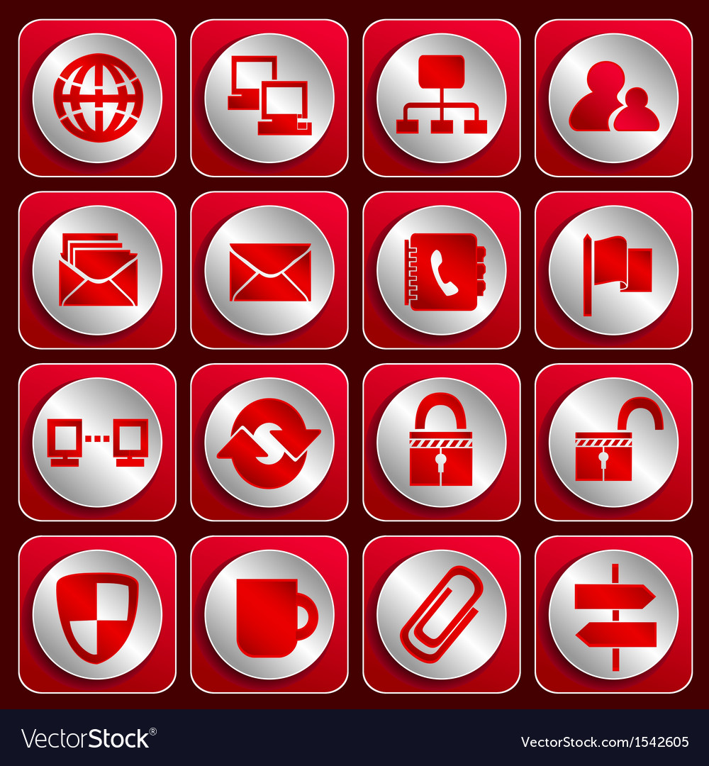 Icon set 3 vector | Price: 1 Credit (USD $1)