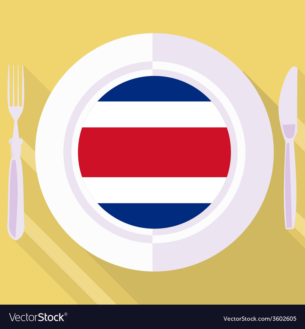 Kitchen of costa rica vector | Price: 1 Credit (USD $1)