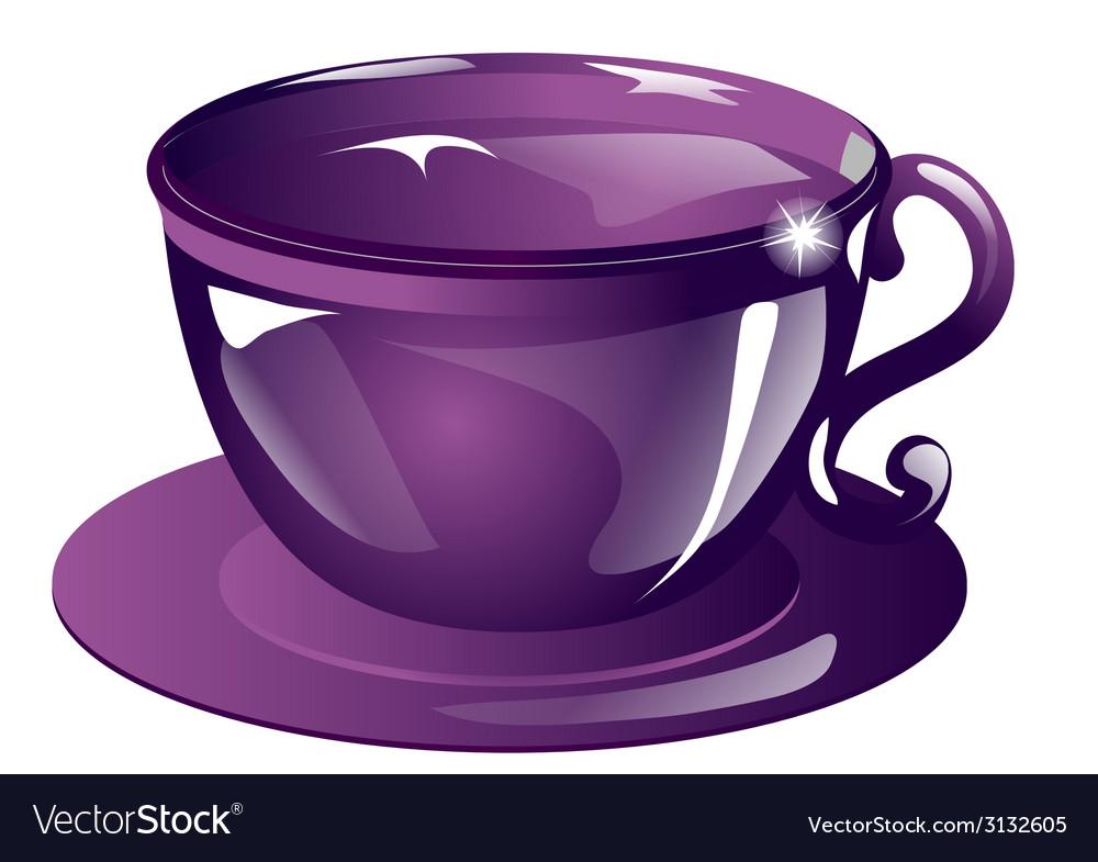 Violet cup vector   Price: 1 Credit (USD $1)
