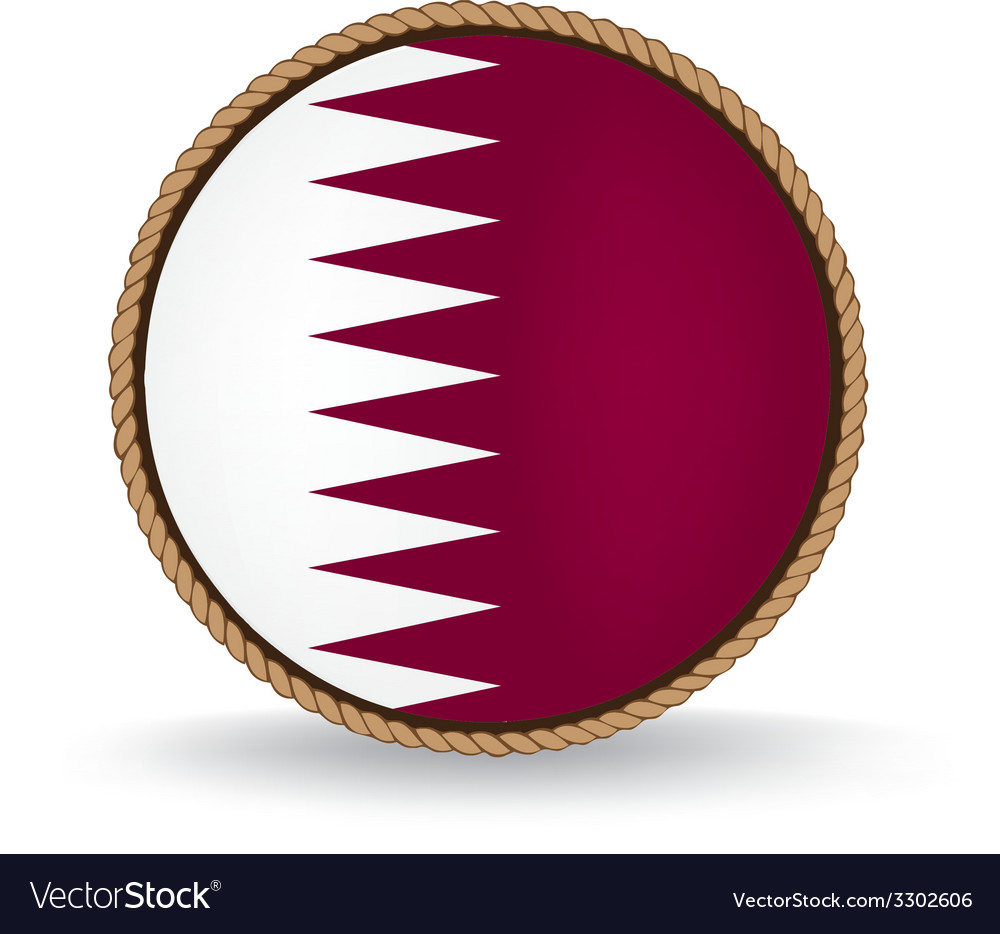 Qatar seal vector   Price: 1 Credit (USD $1)
