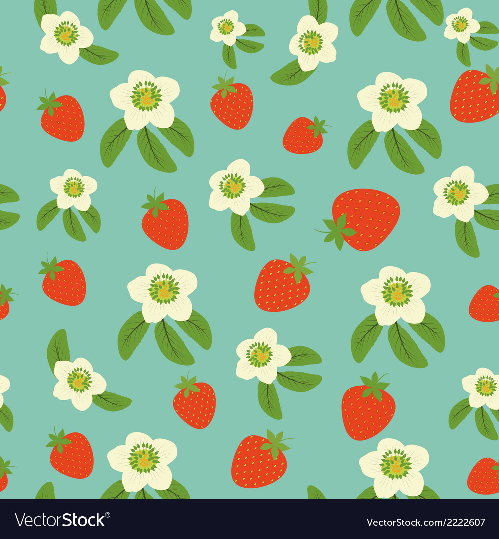 Background from strawberry vector | Price: 1 Credit (USD $1)