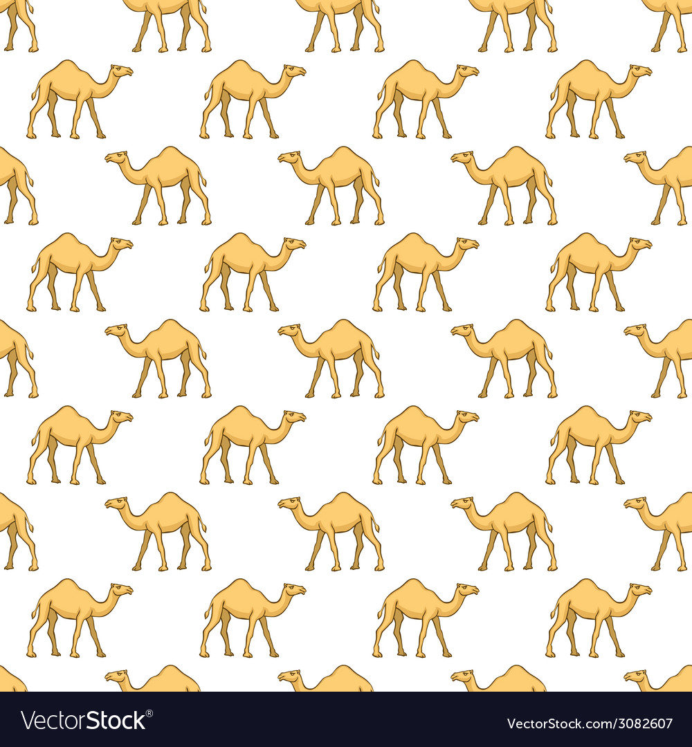 Camels pattern vector | Price: 1 Credit (USD $1)