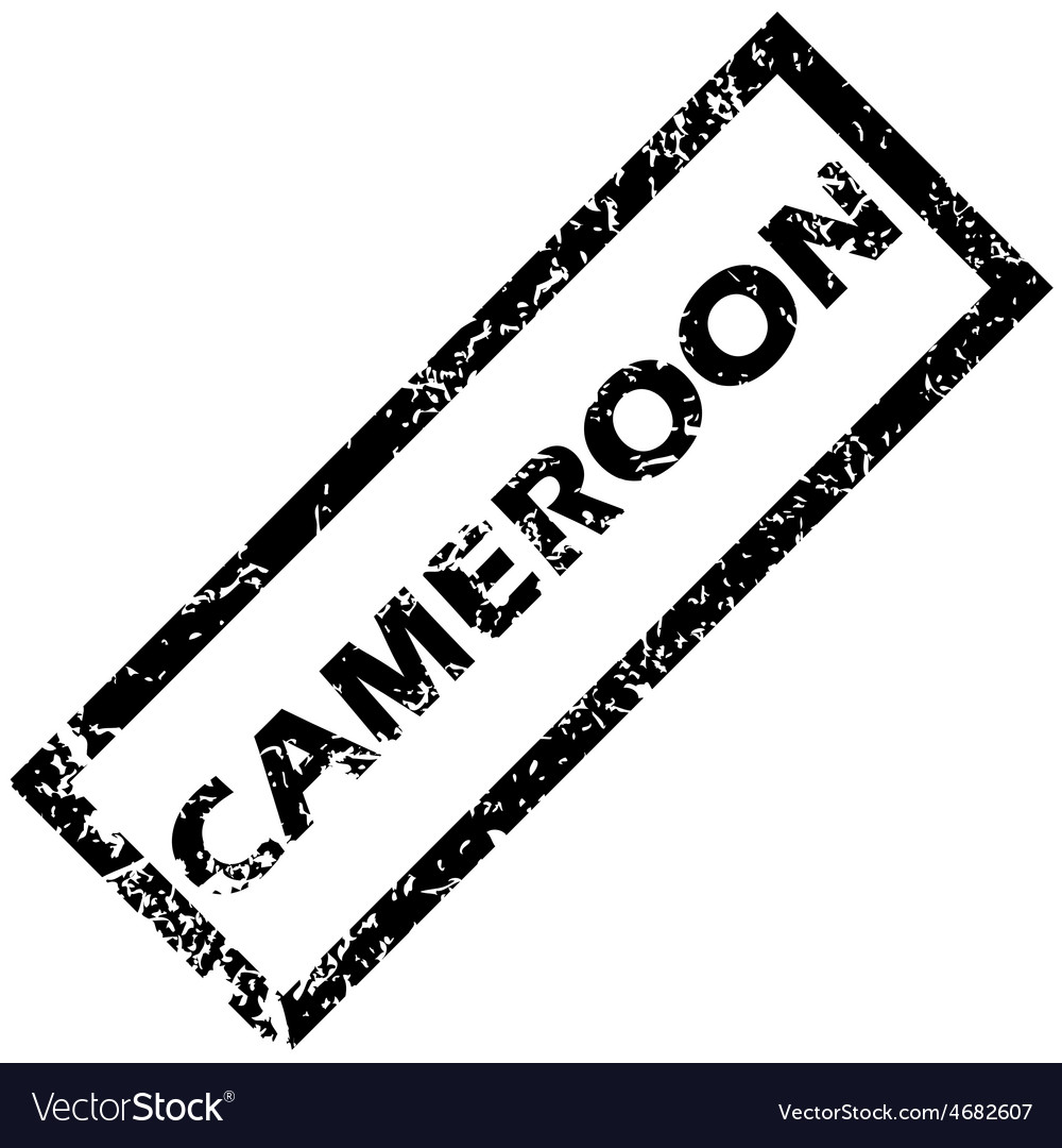 Cameroon rubber stamp vector | Price: 1 Credit (USD $1)