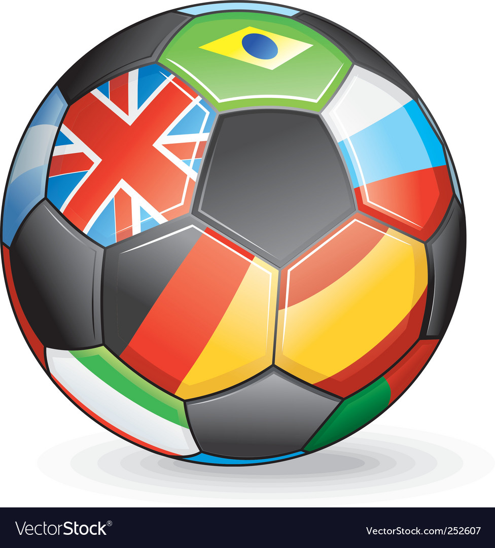 International soccer vector | Price: 3 Credit (USD $3)