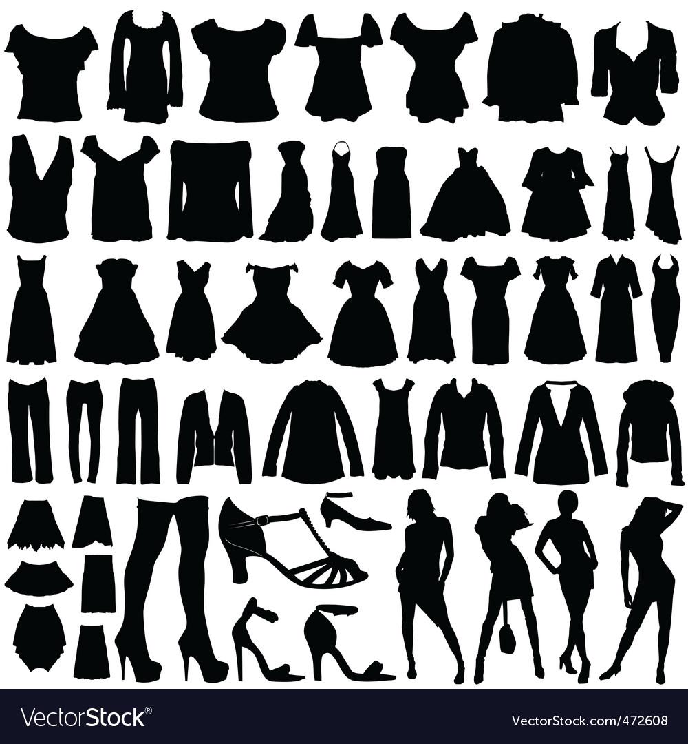 Fashion clothes vector | Price: 1 Credit (USD $1)