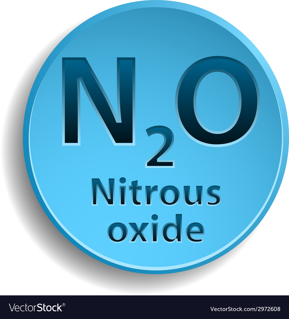 Nitrous oxide vector | Price: 1 Credit (USD $1)