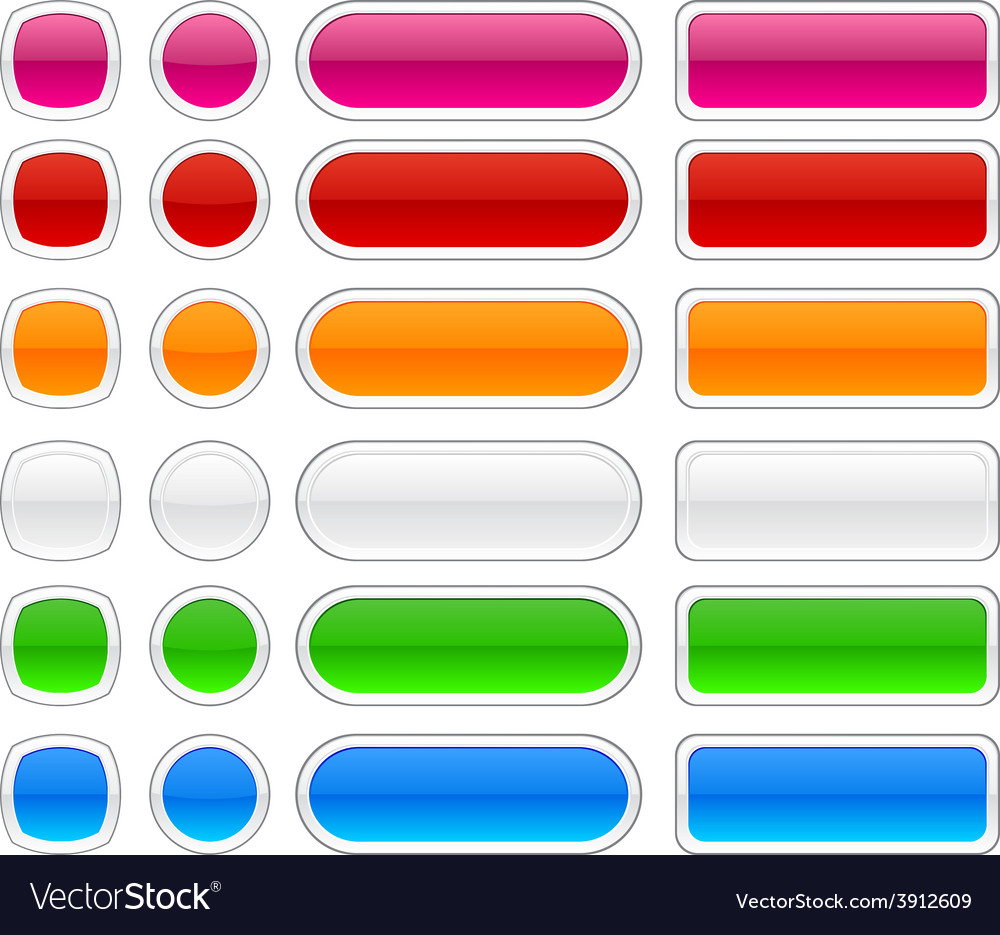 Modern web buttons vector | Price: 1 Credit (USD $1)