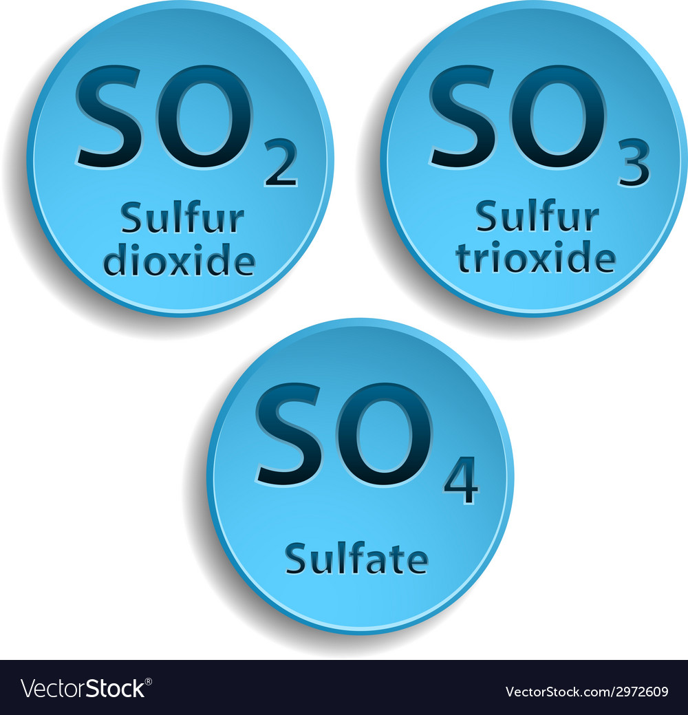 Sulfate vector | Price: 1 Credit (USD $1)